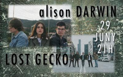 alison DARWIN y Lost Gecko en concert a La Sedeta