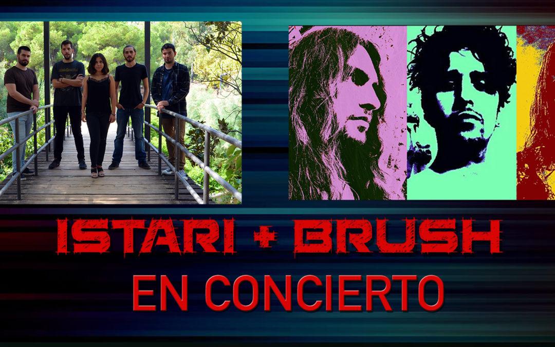 ISTARI + BRUSH en concert a La Sedeta